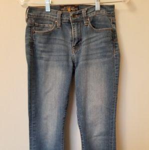 Lucky Brand Sofia Capri Jeans L32